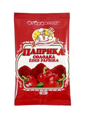 """Паприка солодка ТМ """"Огородник"""" 40г"""