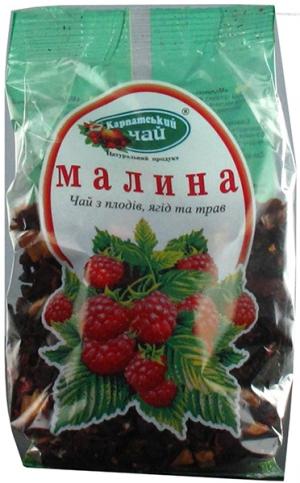Чай Карпатский чай Малина 100г*16, шт