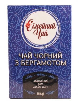 Черный Семейный чай с бергамотом 100 г
