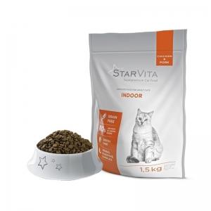 Сухий корм StarVita для домашніх кішок 1.5 кг