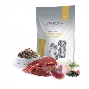 StarVita для взрослых собак малых пород 4 кг