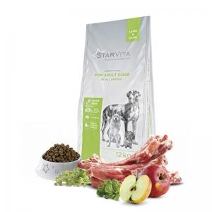 StarVita для дорослих собак всіх порід з бараниною і куркою 12 кг