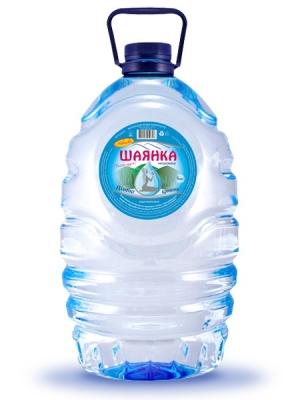 Столова мінеральна негазована вода Шаянка 6л
