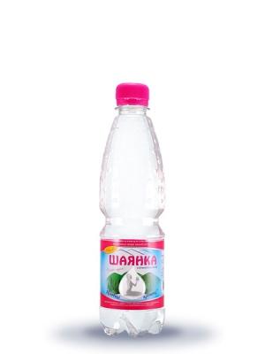 Столовая минеральная сильногазированная вода Шаянка 0,5л