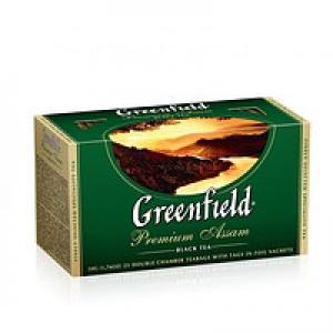 Чорний байховий чай Greenfield Premium Assam