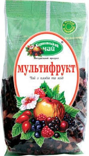 Чай Карпатський чай Мультифрукт 100г*16, шт