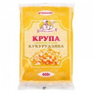 "Крупа кукурудзяна дрібна ТМ ""Огородник"" 400г, шт"