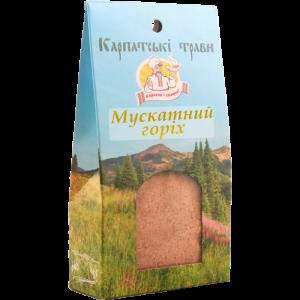 """Мускатный орех молотый ТМ """"Карпатськы трави"""" 50г"""