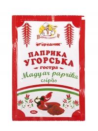"""Паприка венгерская острая  ТМ """"Огородник"""" 80г, шт"""