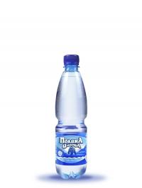 Минеральная газированная вода Поляна-целебная 0,5л