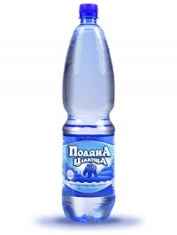 Минеральная газированная вода Поляна целебная 1,5л