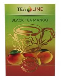 Чорний чай BLACK TEA MANGO 90 г - букет з м'якого чорного чаю і манго