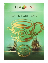 Зелений чай GREEN EARL GREY 90 г