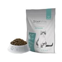 Сухой корм StarVita для активных кошек 1.5 кг