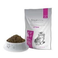 Сухой корм Starvita для котят 1.5 кг