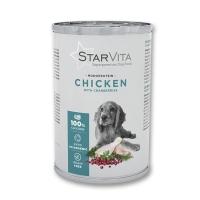 Влажный корм StarVita курятина с ягодами 400 г