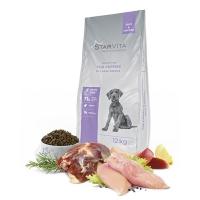 StarVita для щенков крупных пород StarVita со вкусом утки и курицы 12 кг