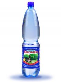 Минеральная газированная вода Драговская 1,5л