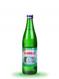 Столовая минеральная слабогазированная вода Шаянка 0,5л (стекло)