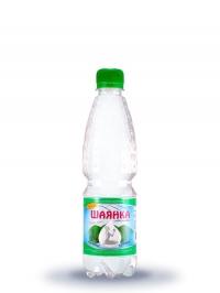 Столова мінеральна слабогазована вода Шаянка 0,5л