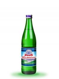 Мінеральна газована вода Шаянська 0,5л (скло)